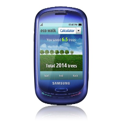 La nuova funzione Eco walk del Samsung Blue earth