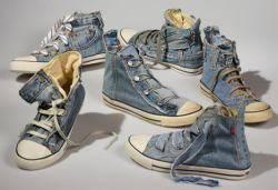 Levis-Reused-Jeans-Shoes