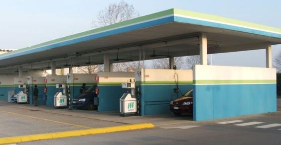 stazioni di rifornimento del metano