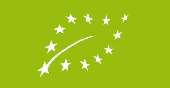 logo UE sui prodotti biologici
