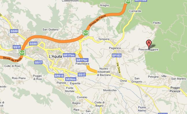 pescomaggiore_map