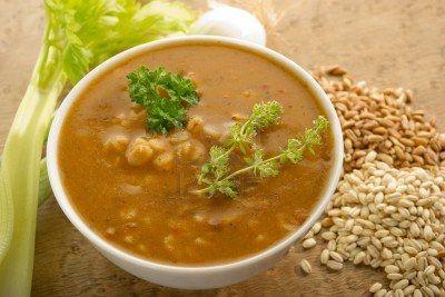spelt-soup