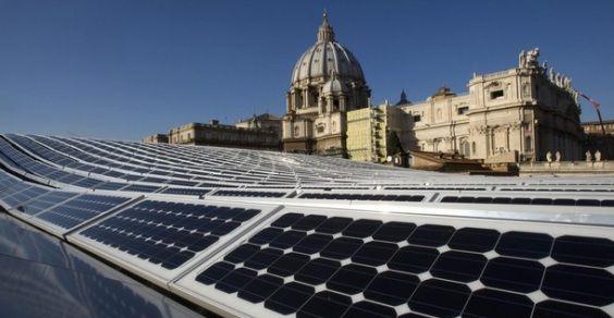 impianto fotovoltaico Vaticano