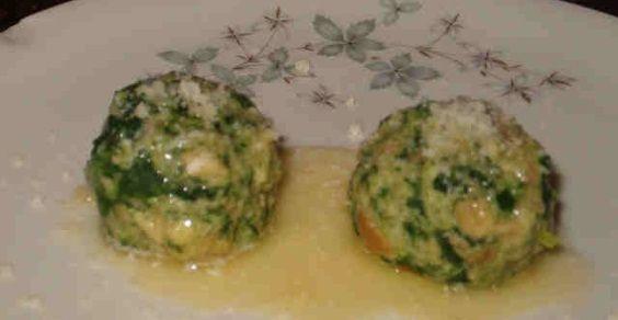 canederli spinaci