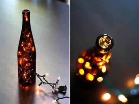 Lampadari Fatti Con Bottiglie Di Vetro.13 Idee Dal Mondo Per Riciclare Creativamente Le Bottiglie