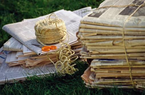 riciclare-giornali