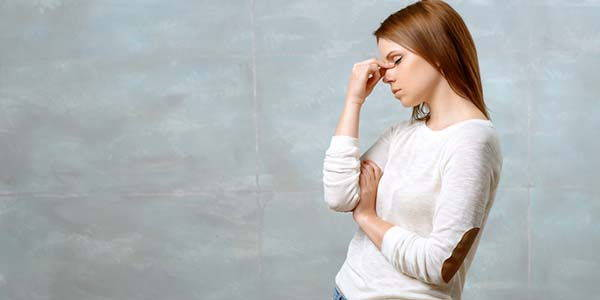 mal testa sinusite
