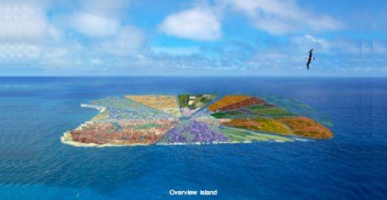 isola riciclata