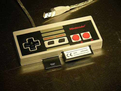 Nintendo-controller-into-a-PC-card-reader