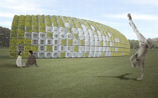 padiglione verde