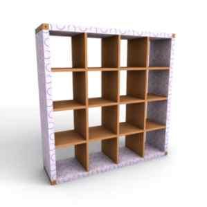 libreria cartone