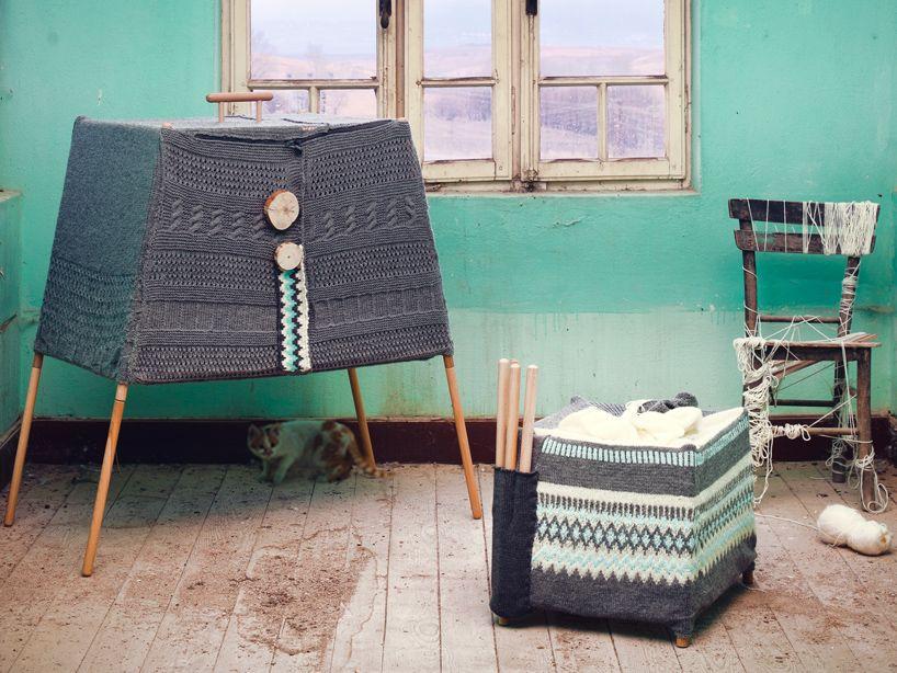 mobili fatti a maglia2
