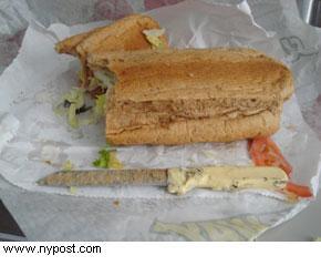 coltello panino
