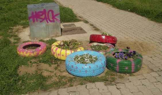 fioriere pneumatici
