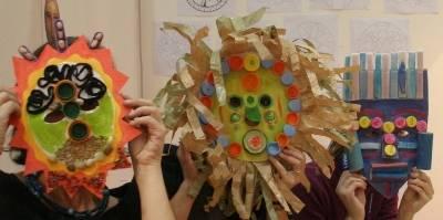 come realizzare maschere con materiali di recupero