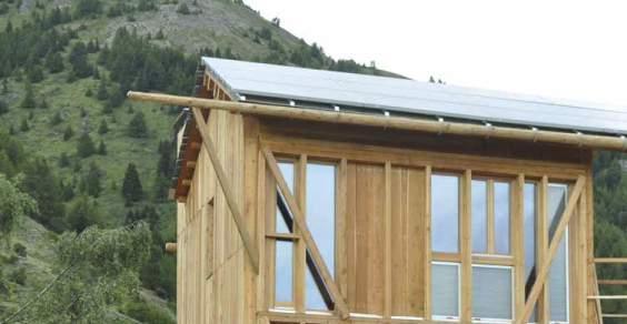 casa solare passiva