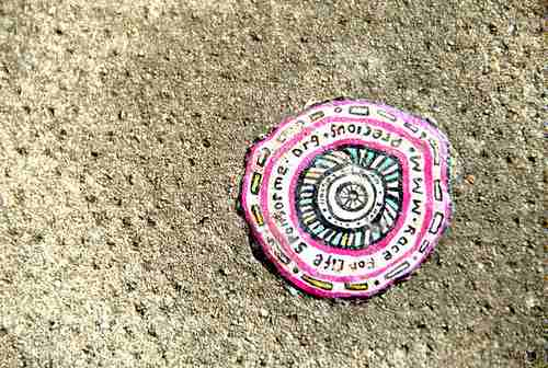 chewing gum art 3