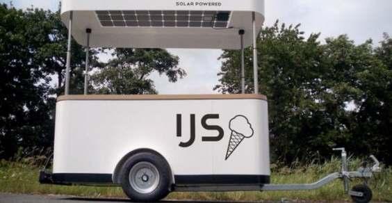carretto gelati solare