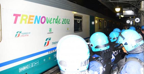 treno verde scorie