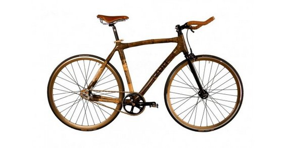 bicicletta bambù