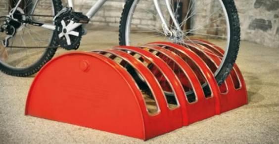 barile petrolio parcheggio bici
