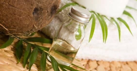 olio di cocco dentifrici