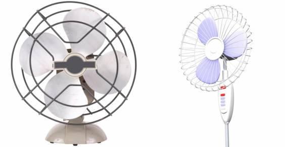 riciclo ventilatori