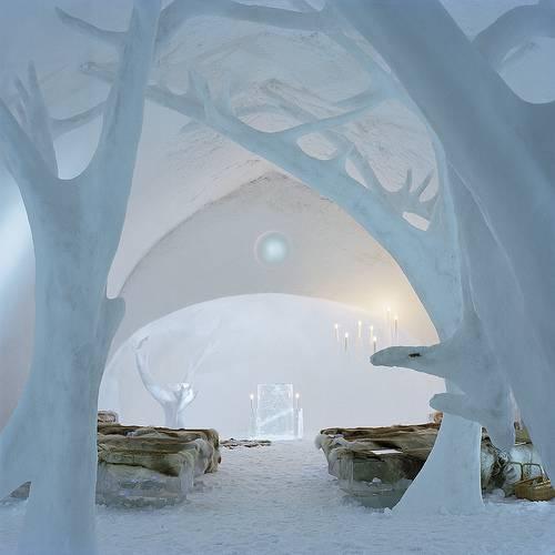 ICEHOTEL Jukkasjarvi bad room