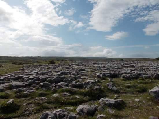 Tipico paesaggio del Burren