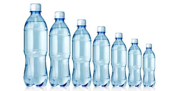 bottiglie di plastica differenziata