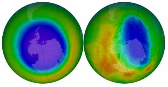 ozono nasa2012