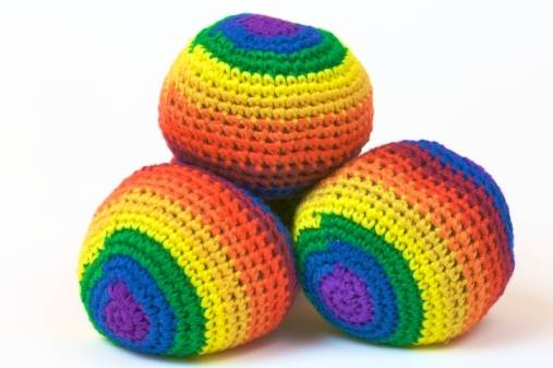 palline giocoliere