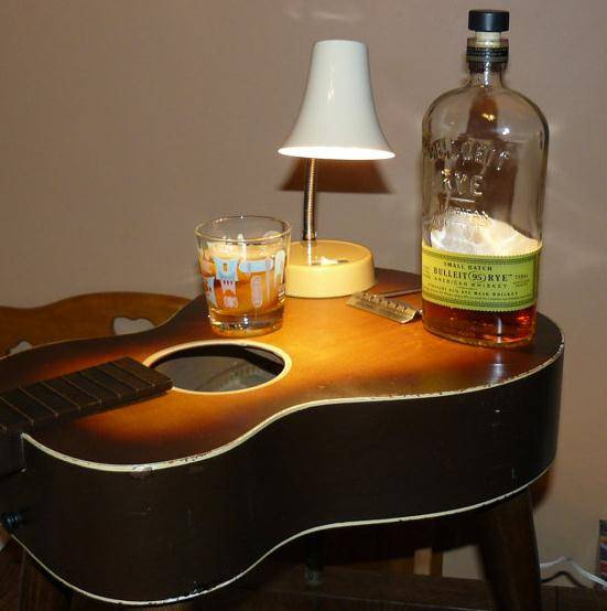 tavolino chitarra