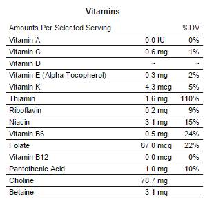 vitamine semi di lino