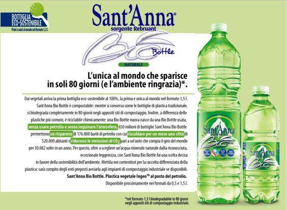 bottiglia ecosostenibile