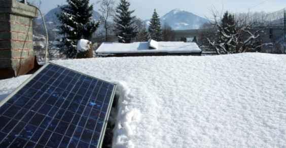 fotovoltaico neve