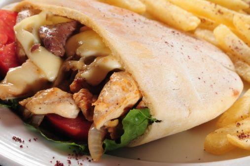 kebab panino