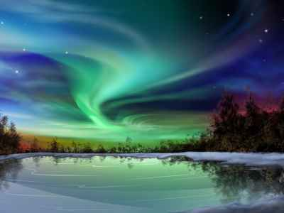 suono aurora boreale