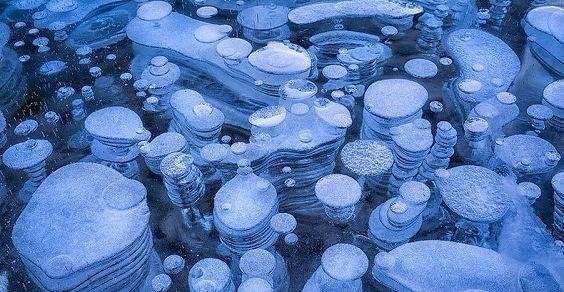 bolle di ghiaccio