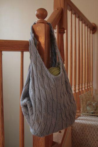 borsa maglione
