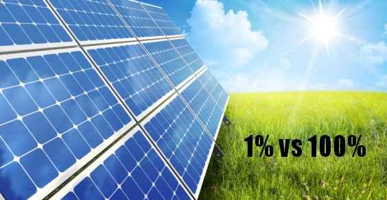 fotovoltaico 1percento