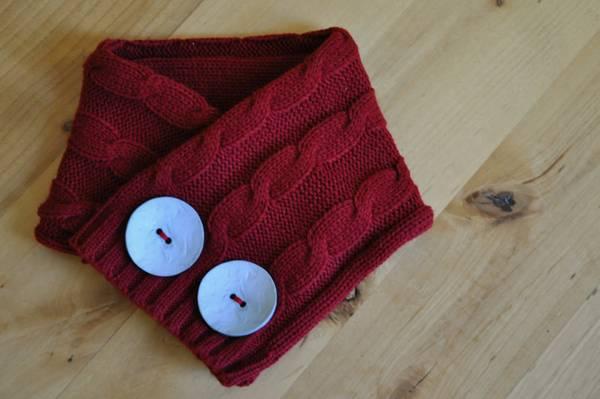 sciarpa maglione
