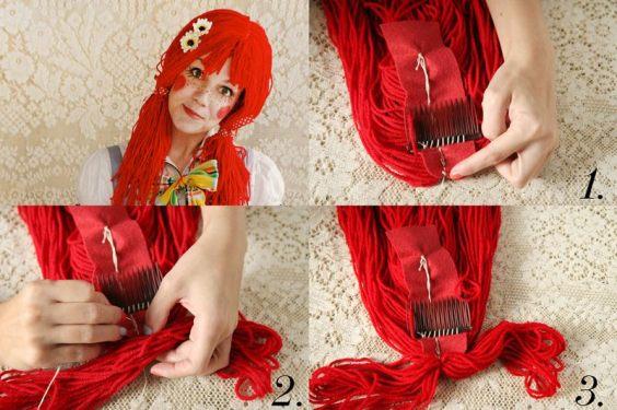 parrucca fai da te