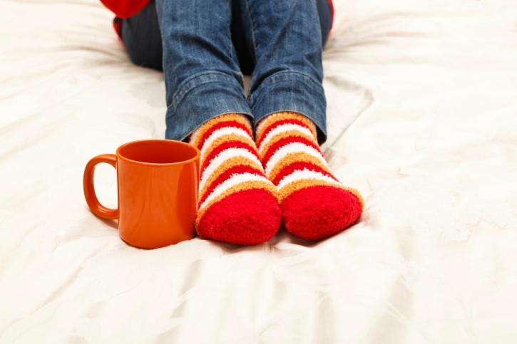 piedi freddi tisana