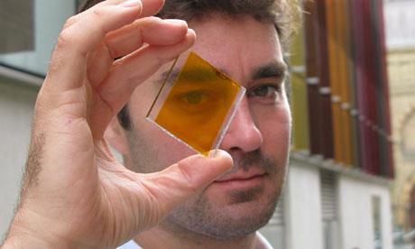 solar glass work
