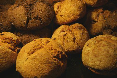Pane di zucca e con farina di canapa