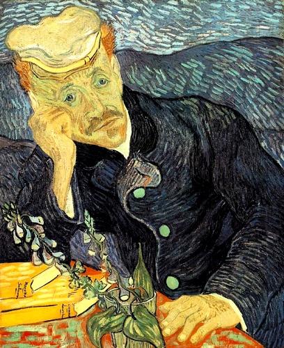 Vincent Van Gogh - Portrait of Dr Gachet 1890