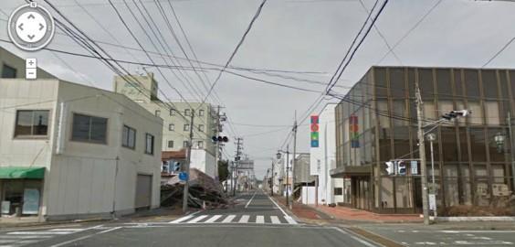 fukushima google strada