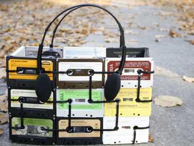 musicassette 5 borsa