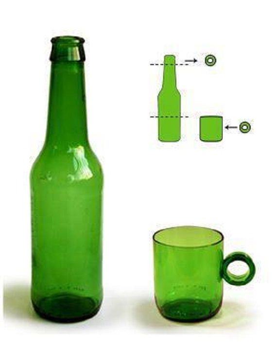 Lampadari Fatti Con Bottiglie Di Vetro.Come Tagliare La Bottiglia Di Vetro Con Un Filo In 10 Mosse